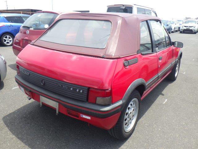 1995 PEUGEOT 205 CTI 1.9 CABRIOLET AUTOMATIC RARE COLLECTOR CAR For Sale (picture 3 of 6)