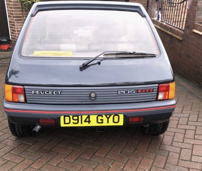 1987 Peugeot 205 GTI 1.9 Phase 1 *Low Mileage* For Sale (picture 1 of 6)