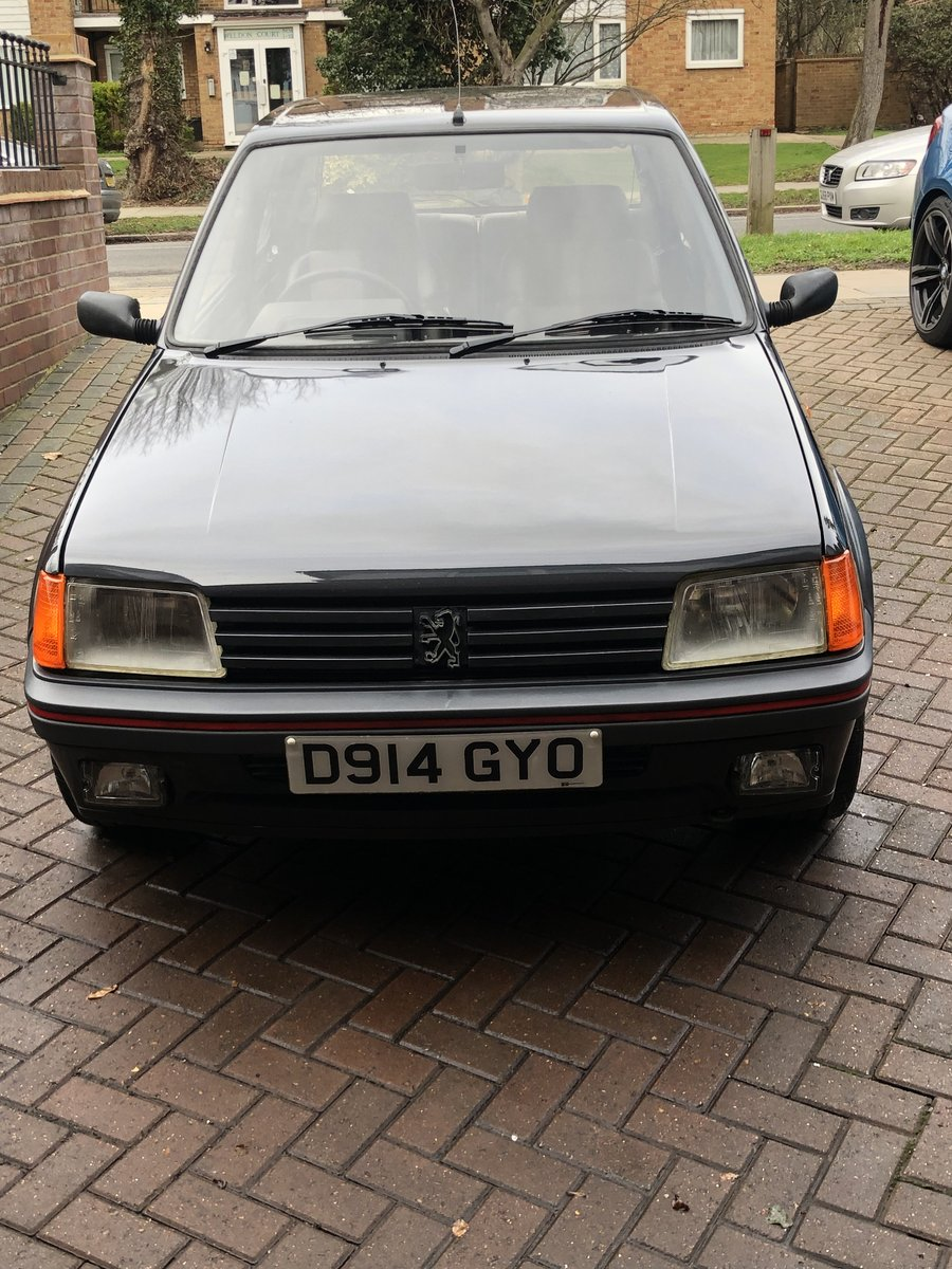 1987 Peugeot 205 GTI 1.9 Phase 1 *Low Mileage* For Sale (picture 2 of 6)
