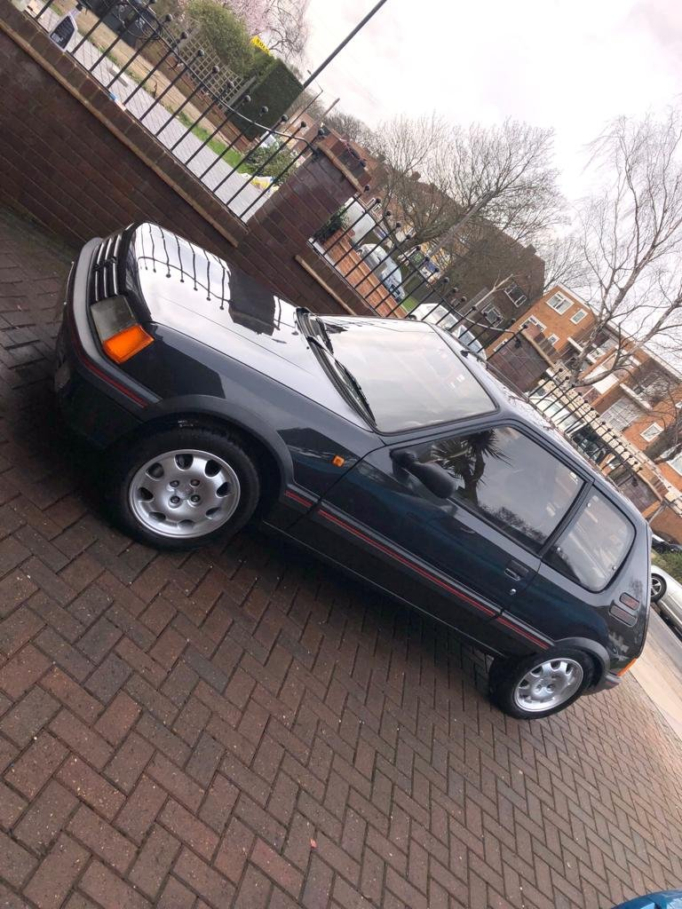 1987 Peugeot 205 GTI 1.9 Phase 1 *Low Mileage* For Sale (picture 3 of 6)