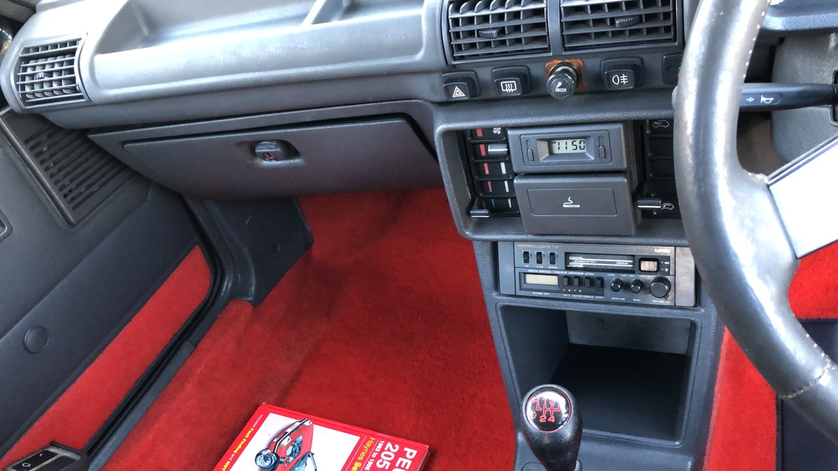 1987 Peugeot 205 GTI 1.9 Phase 1 *Low Mileage* For Sale (picture 5 of 6)