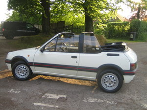 1990 Immaculate Peugeot 205 CTi 1.6 in white