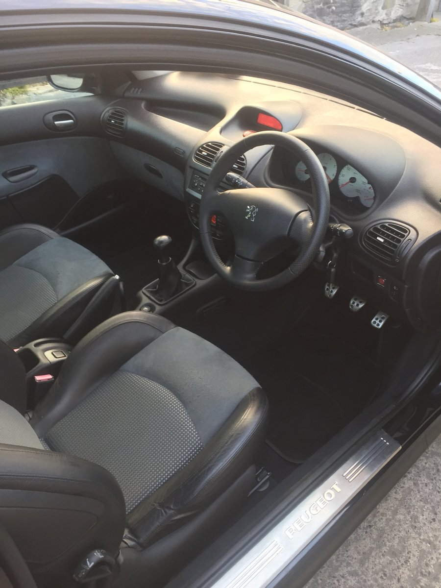 2004 Peugeot 206 GTI 16v For Sale (picture 3 of 6)