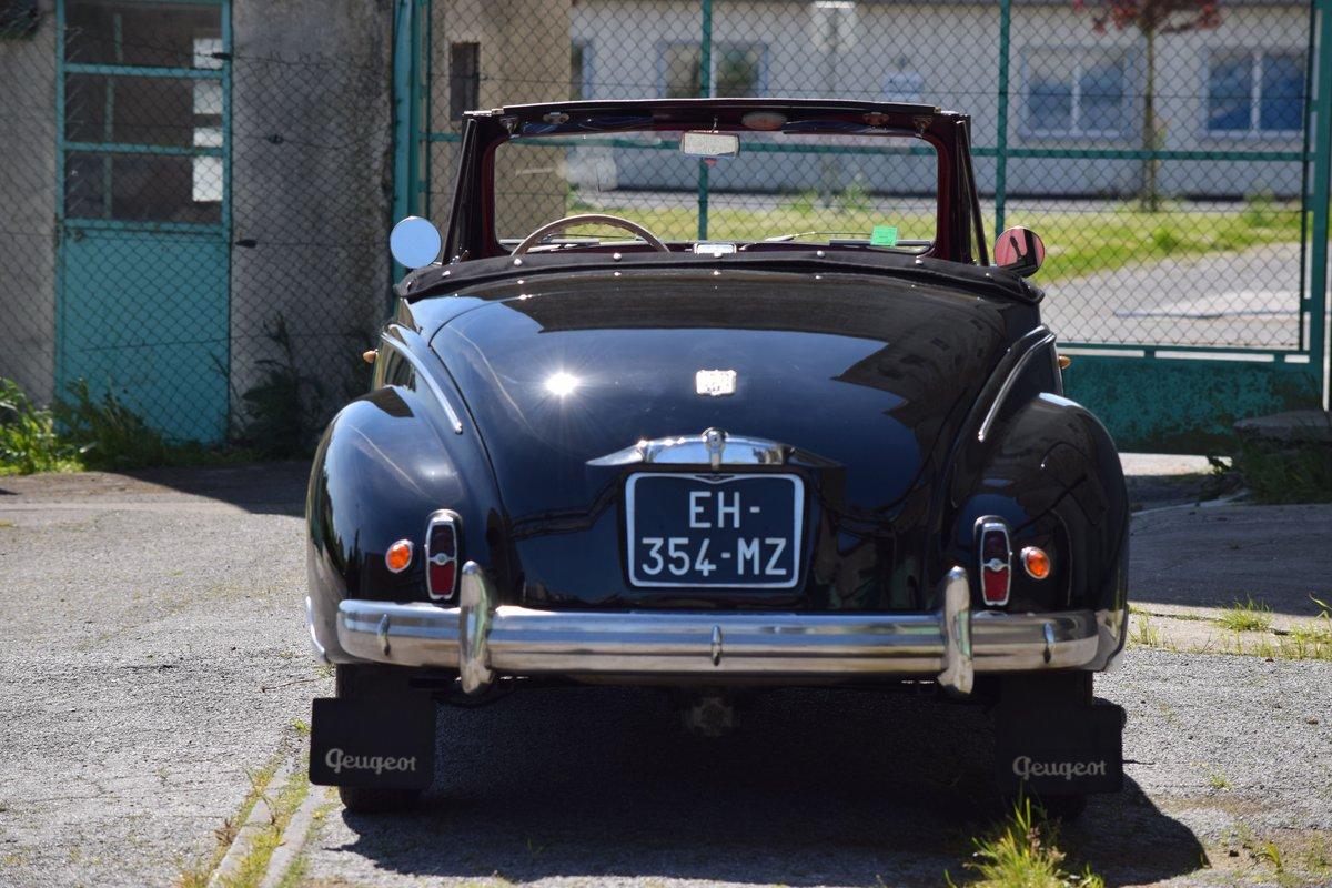 1955 Peugeot 203 Cabriolet For Sale by Auction (picture 4 of 6)