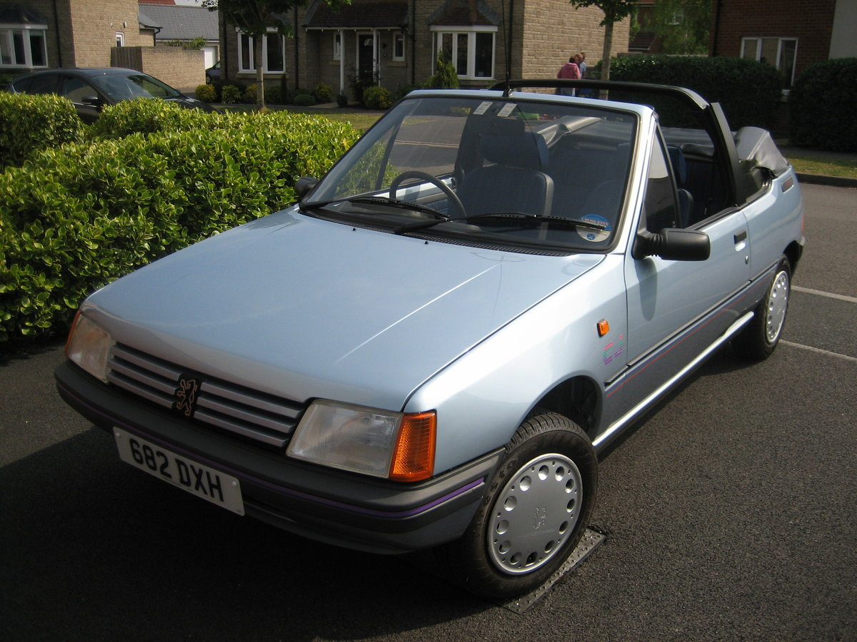 1990 Peugeot 205 CJ with less than 9000 miles, new MOT SOLD (picture 1 of 6)