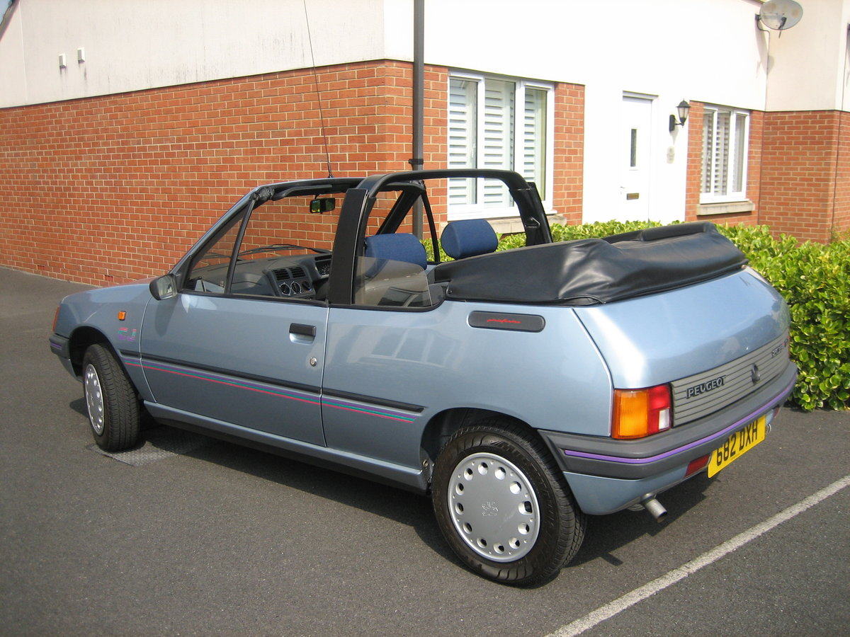 1990 Peugeot 205 CJ with less than 9000 miles, new MOT SOLD (picture 4 of 6)