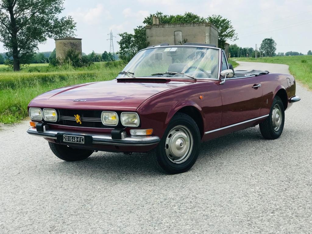 1972 PEUGEOT 504 CABRIOLET PININFARINA 1a SERIES For Sale (picture 1 of 6)