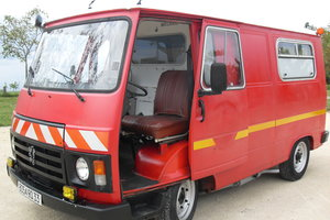 1983 CLASSIC PEUGEOT J9 VAN / VINTAGE FOOD TRUCK / CATE For Sale