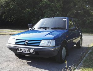 1995 Peugeot 205 Mardi Gras 1.6 5 door auto For Sale