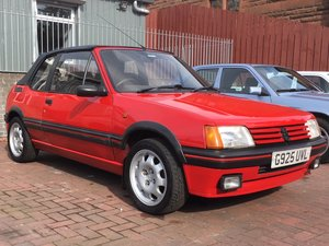 1990 peugeot 205 CTI 1.6. 12 month MOT For Sale