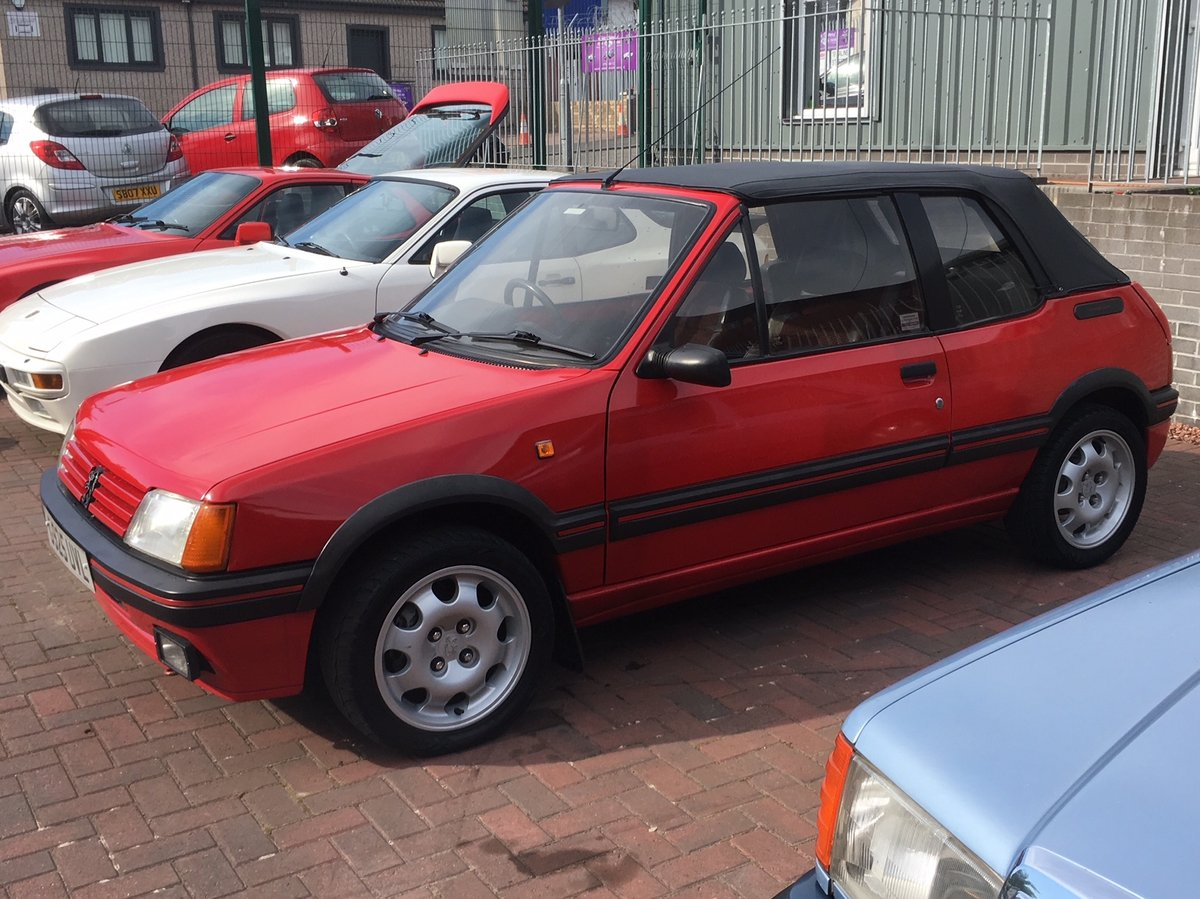 1990 peugeot 205 CTI 1.6 For Sale (picture 2 of 6)