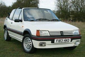 1989 Peugeot 205 1.6 CTI  SOLD