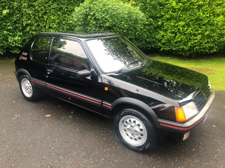 £8,995 : 1989 PEUGEOT 205 1.6 GTI For Sale (picture 1 of 6)