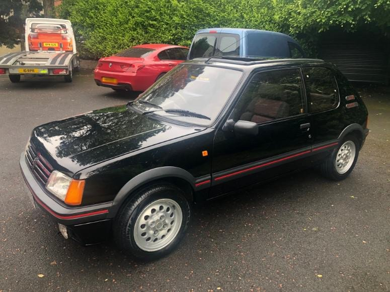 £8,995 : 1989 PEUGEOT 205 1.6 GTI For Sale (picture 2 of 6)