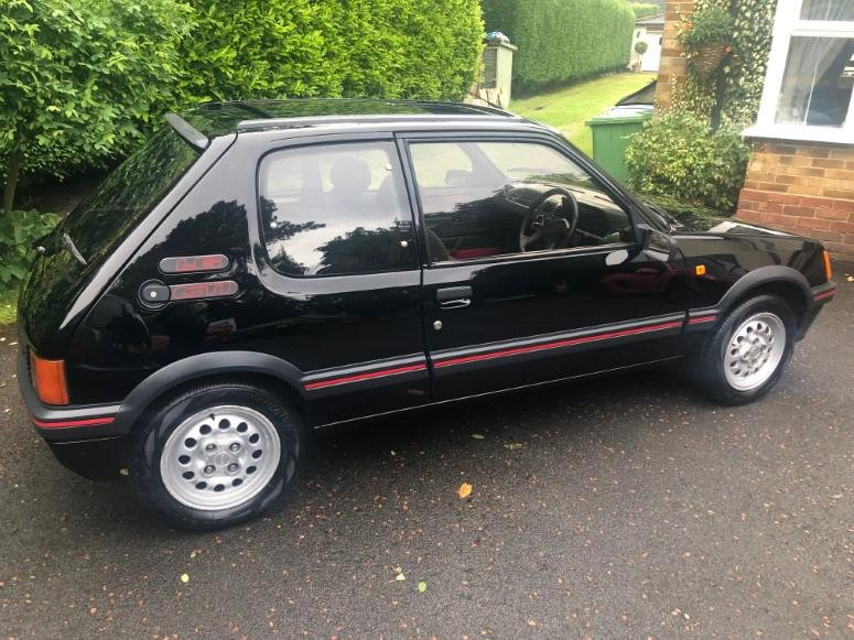 £8,995 : 1989 PEUGEOT 205 1.6 GTI For Sale (picture 4 of 6)