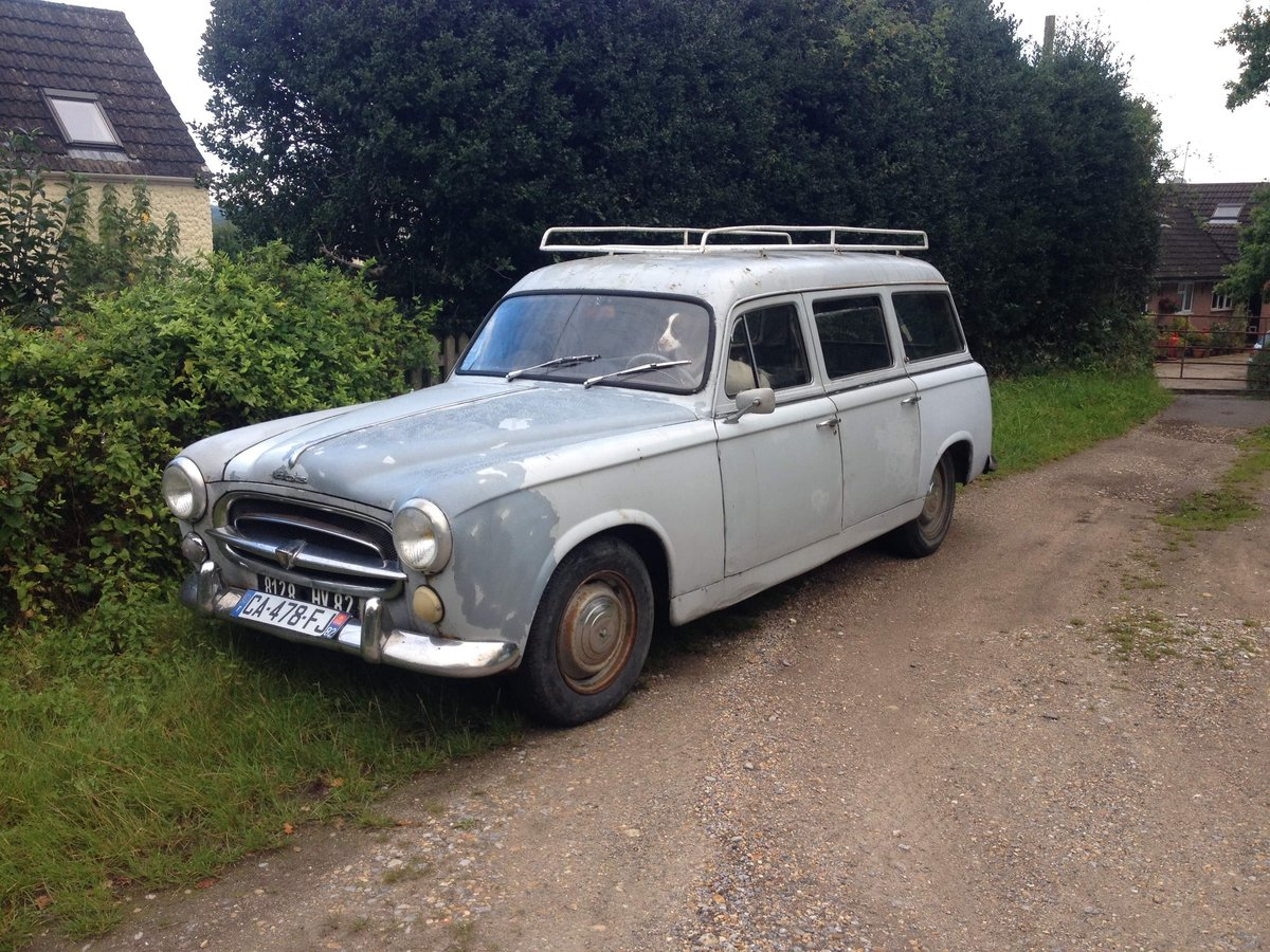 1959 Peugeot 403 estate For Sale (picture 1 of 1)