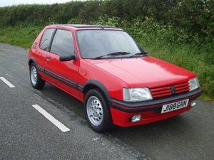 1991 Peugeot 205 GTi For Sale by Auction