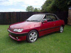 1995 Peugeot 306 Cabriolet For Sale by Auction