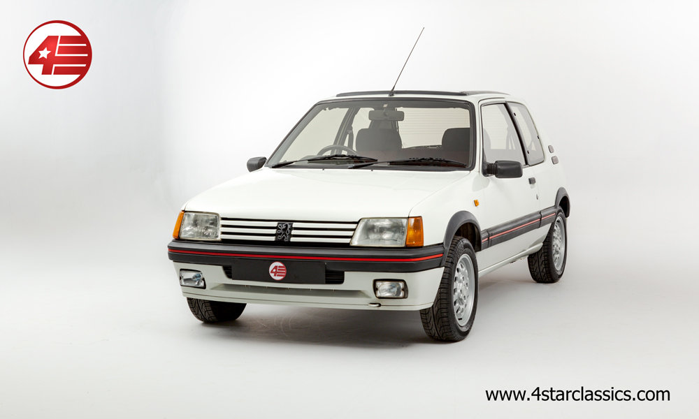 1990 Peugeot 205 GTI /// 4 Owners /// 86k Miles For Sale (picture 1 of 6)