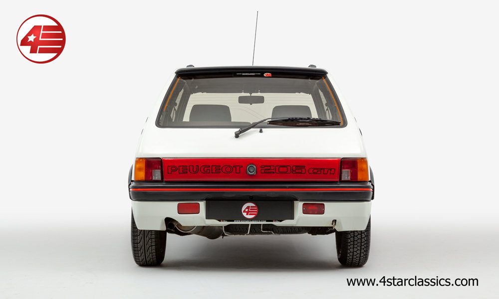 1990 Peugeot 205 GTI /// 4 Owners /// 86k Miles For Sale (picture 3 of 6)