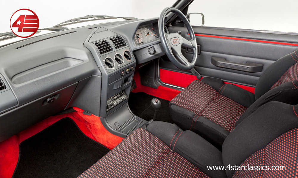 1990 Peugeot 205 GTI /// 4 Owners /// 86k Miles For Sale (picture 4 of 6)