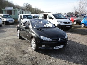 2004 PEUGEOT 206 CC 2.0 ALLURE CONVERTIBLE Only 68,000 miles For Sale