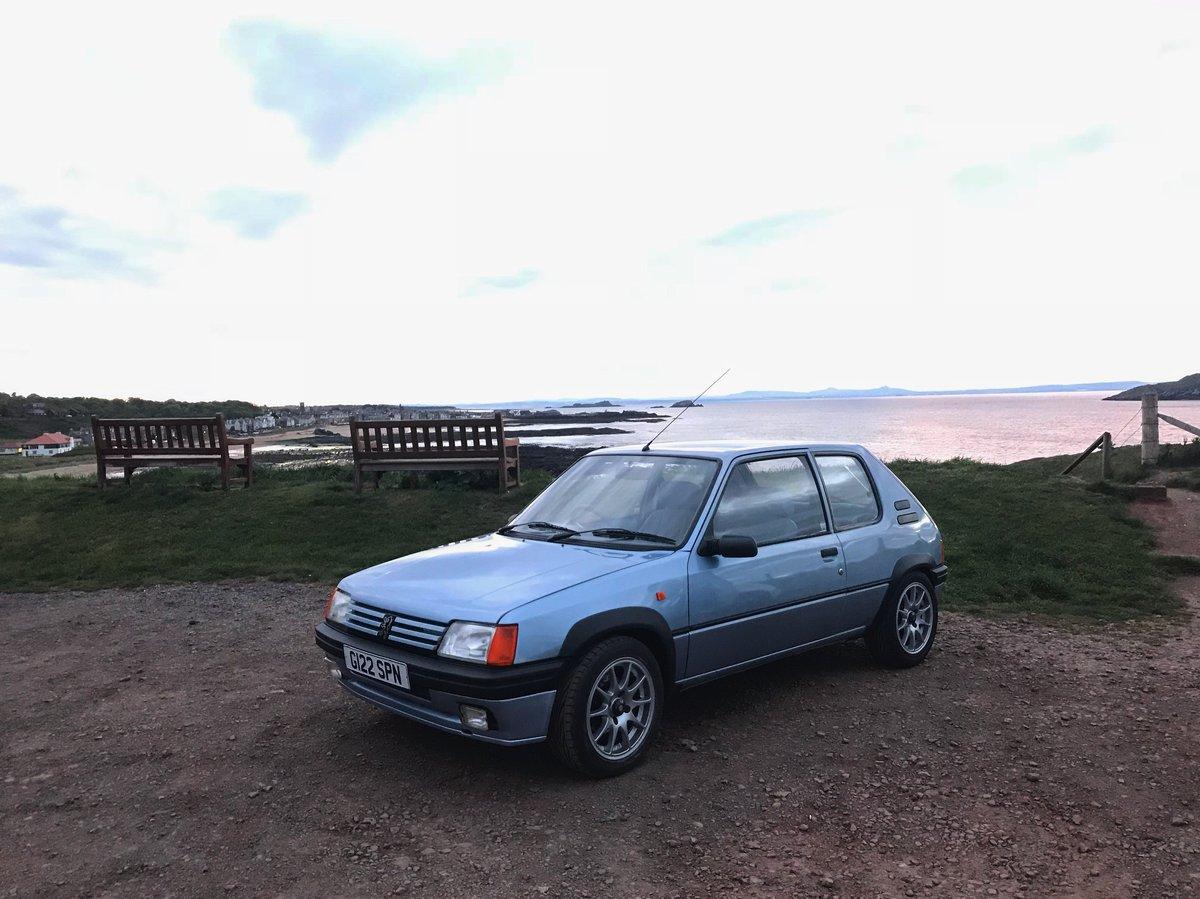 1990 Peugeot 205 XR 1.6 16v GTI/VTS For Sale (picture 1 of 6)