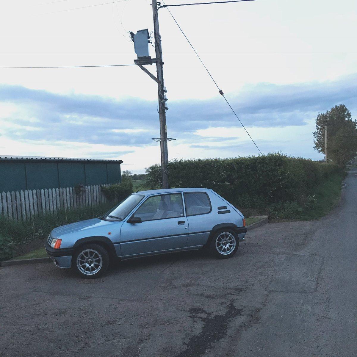 1990 Peugeot 205 XR 1.6 16v GTI/VTS For Sale (picture 3 of 6)