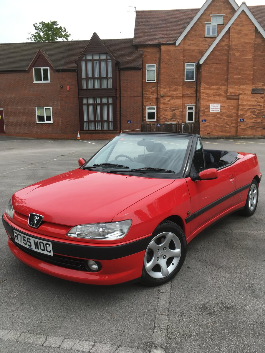 1998 306 Cabriolet 2.0 auto stunning SOLD (picture 1 of 6)