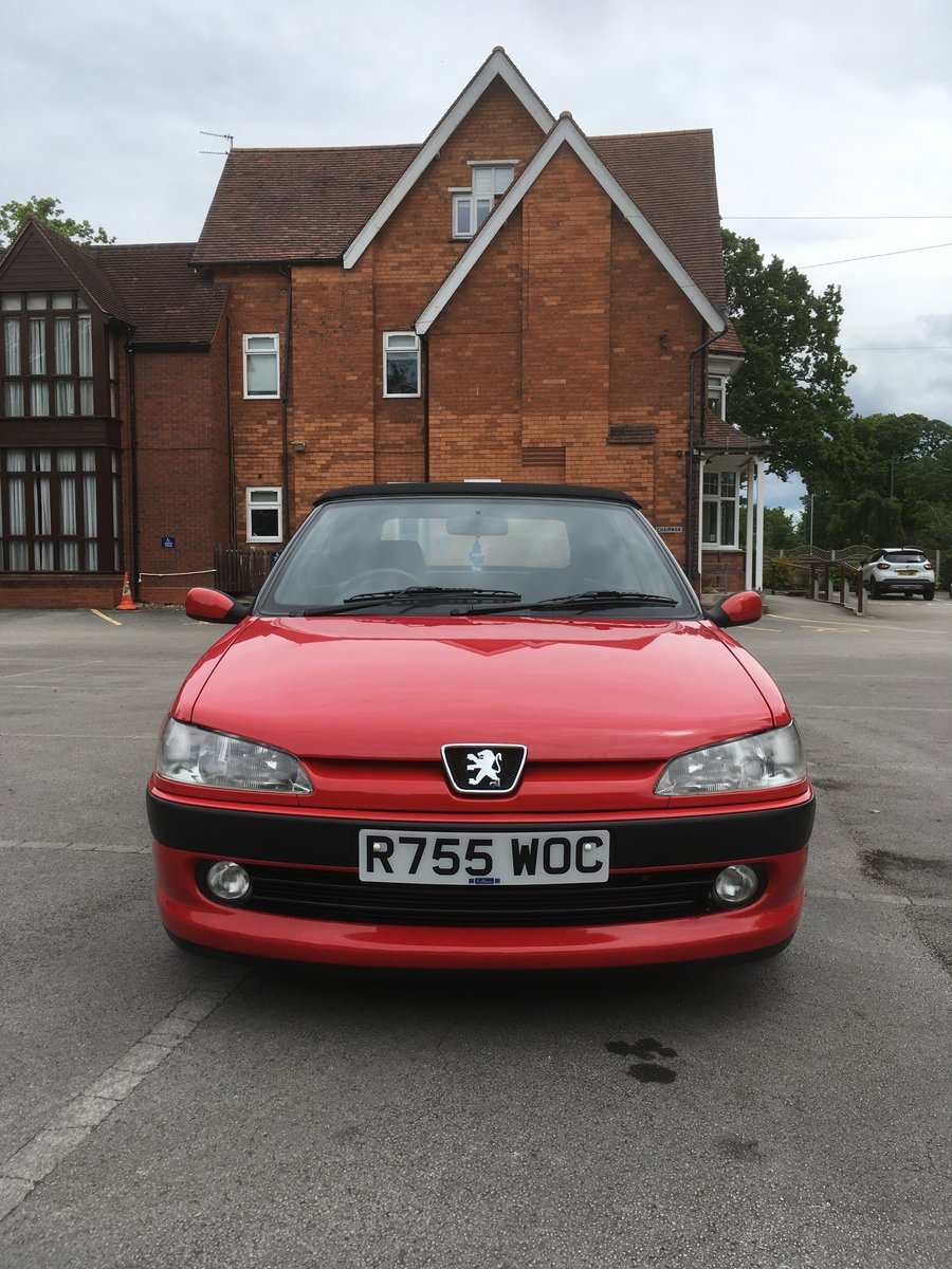 1998 306 Cabriolet 2.0 auto stunning SOLD (picture 2 of 6)