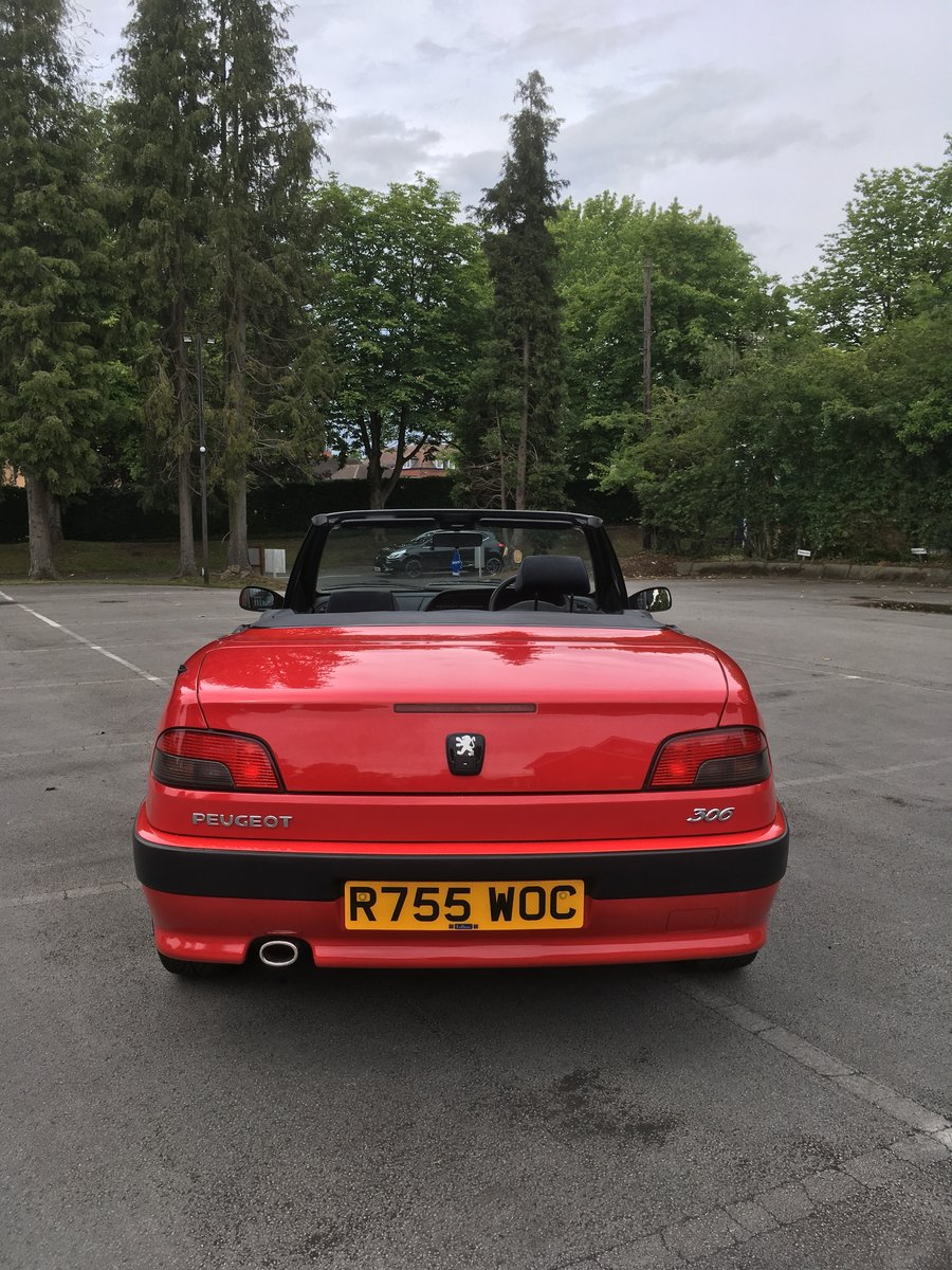 1998 306 Cabriolet 2.0 auto stunning SOLD (picture 6 of 6)