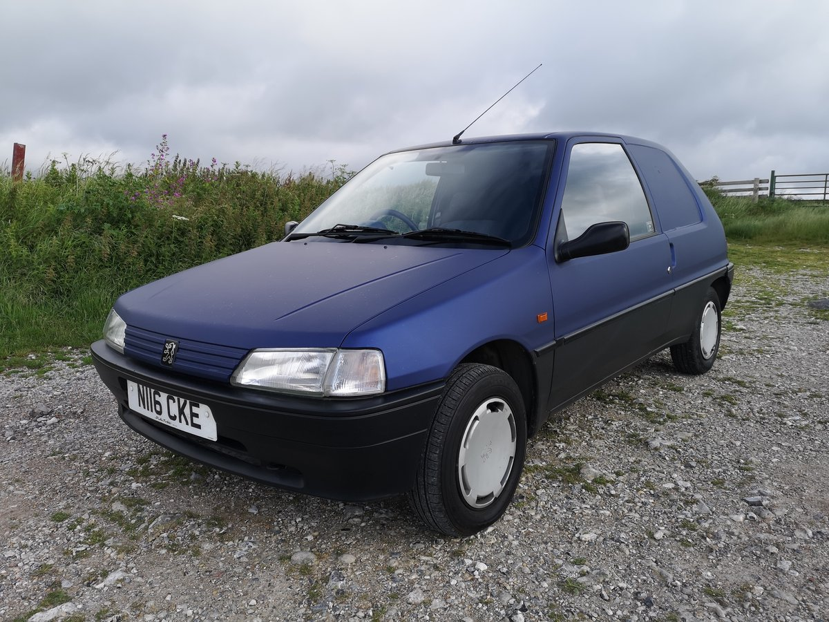 1996 Mk1 XRAD VAN 1.5d . 104k  , extensive history For Sale (picture 1 of 6)