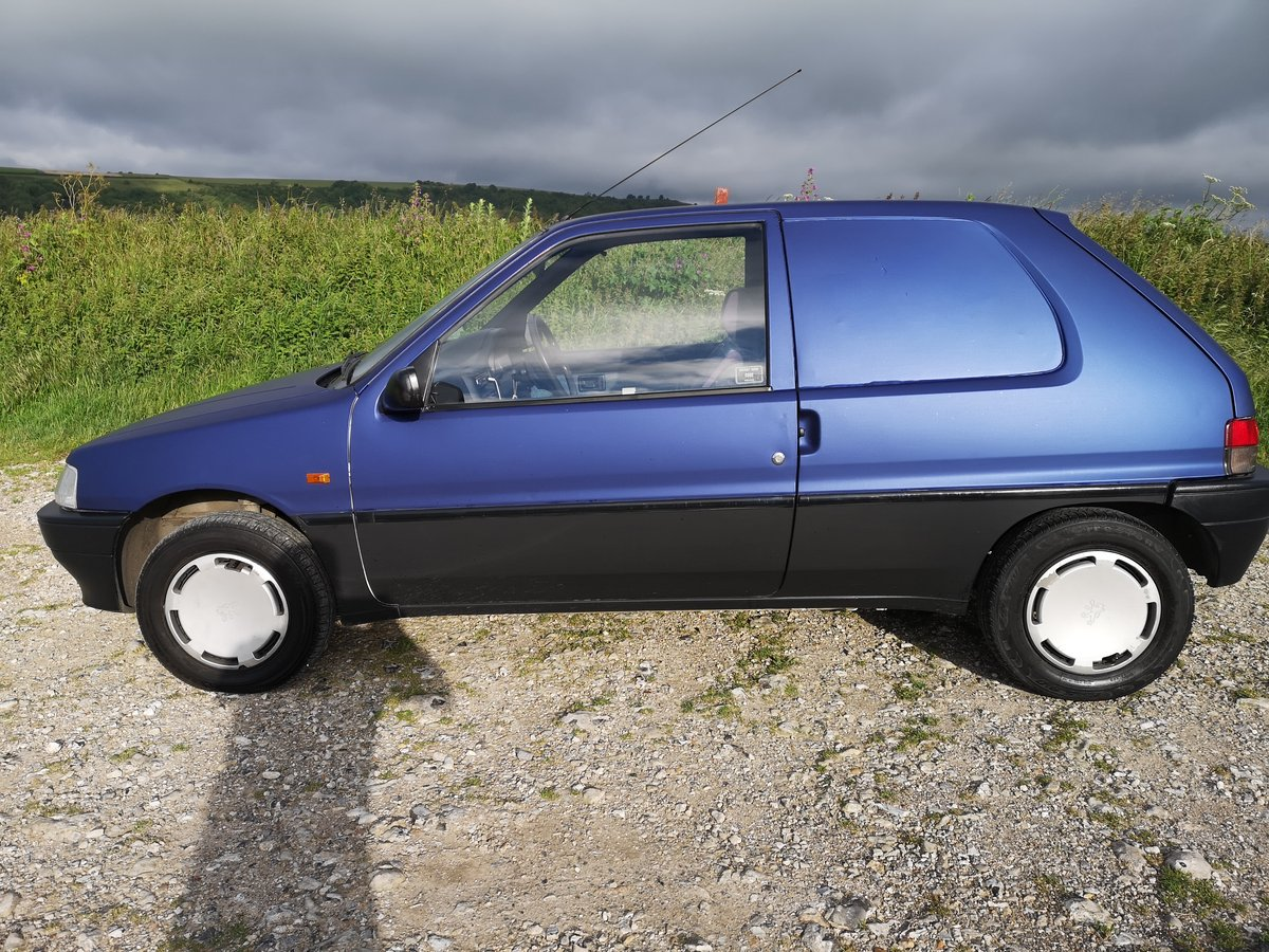 1996 Mk1 XRAD VAN 1.5d . 104k  , extensive history For Sale (picture 3 of 6)
