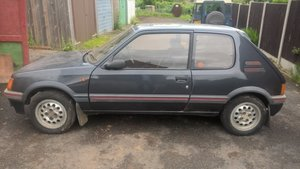 1986 Peugeot 205 GTi For Sale by Auction