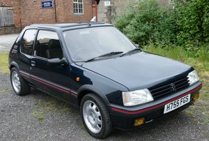 1991 Peugeot 205 GTI, 1905 cc.  For Sale by Auction