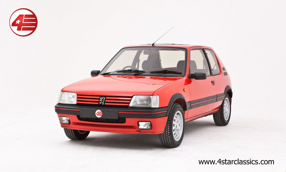 1992 Peugeot 205 GTI /// Outstanding Condition /// 71k Miles For Sale (picture 1 of 6)