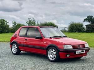 1988 Peugeot 205 GTi For Sale by Auction