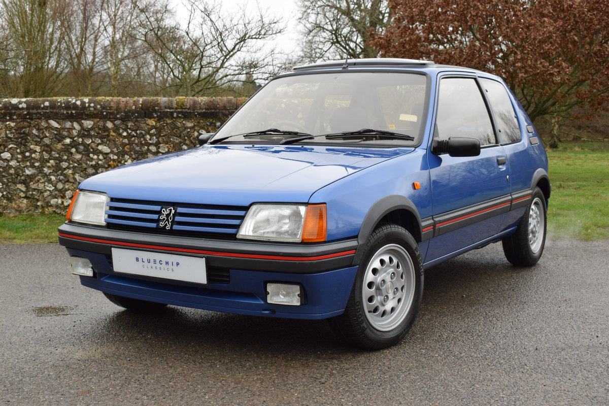 1990 90/H Peugeot 205 GTi 1.6 - one private owner, ltd edition SOLD (picture 2 of 6)