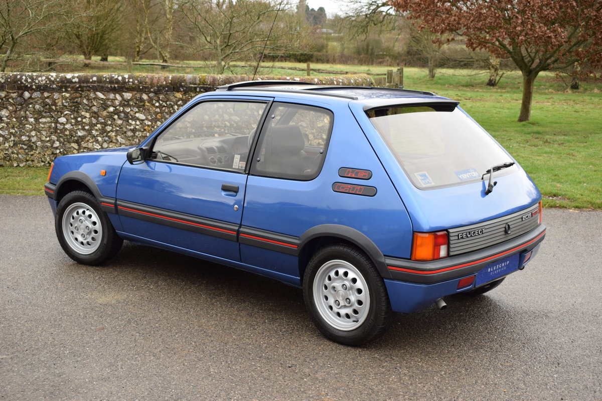 1990 90/H Peugeot 205 GTi 1.6 - one private owner, ltd edition SOLD (picture 3 of 6)