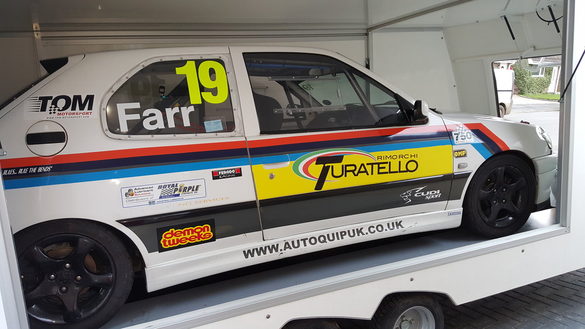 1999 Peugeot 306 Race Car - ideal for a newbie - Bargin For Sale (picture 4 of 4)