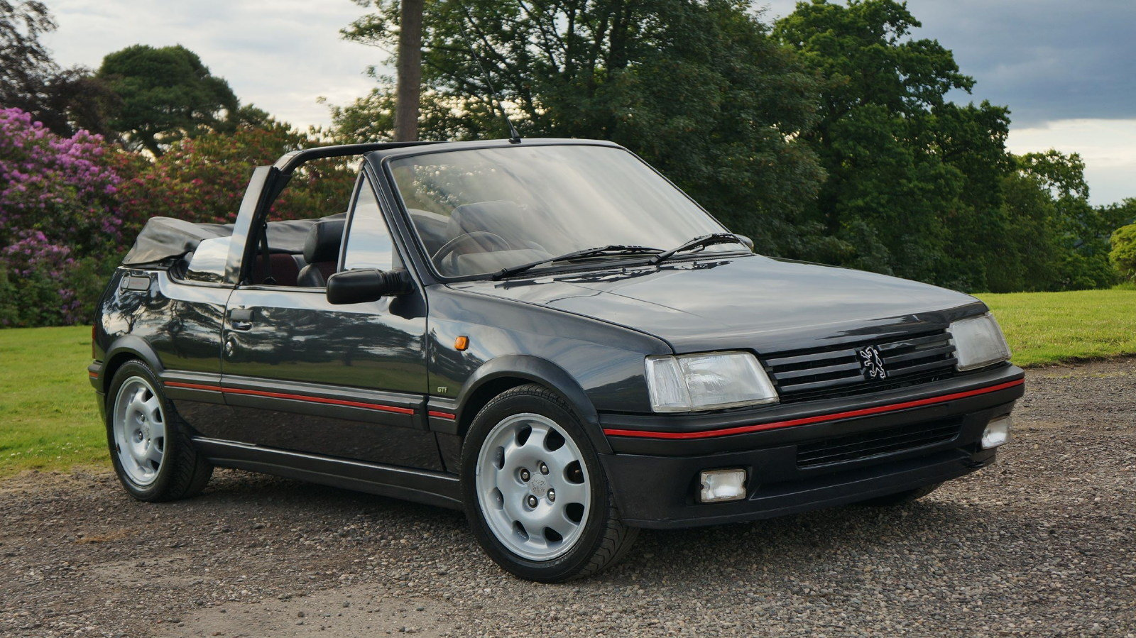 1993 Peugeot 205 CTi 1.9 GTI Convertible Cabriolet For Sale (picture 1 of 6)