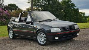 1993 Peugeot 205 CTi 1.9 GTI Convertible Cabriolet For Sale