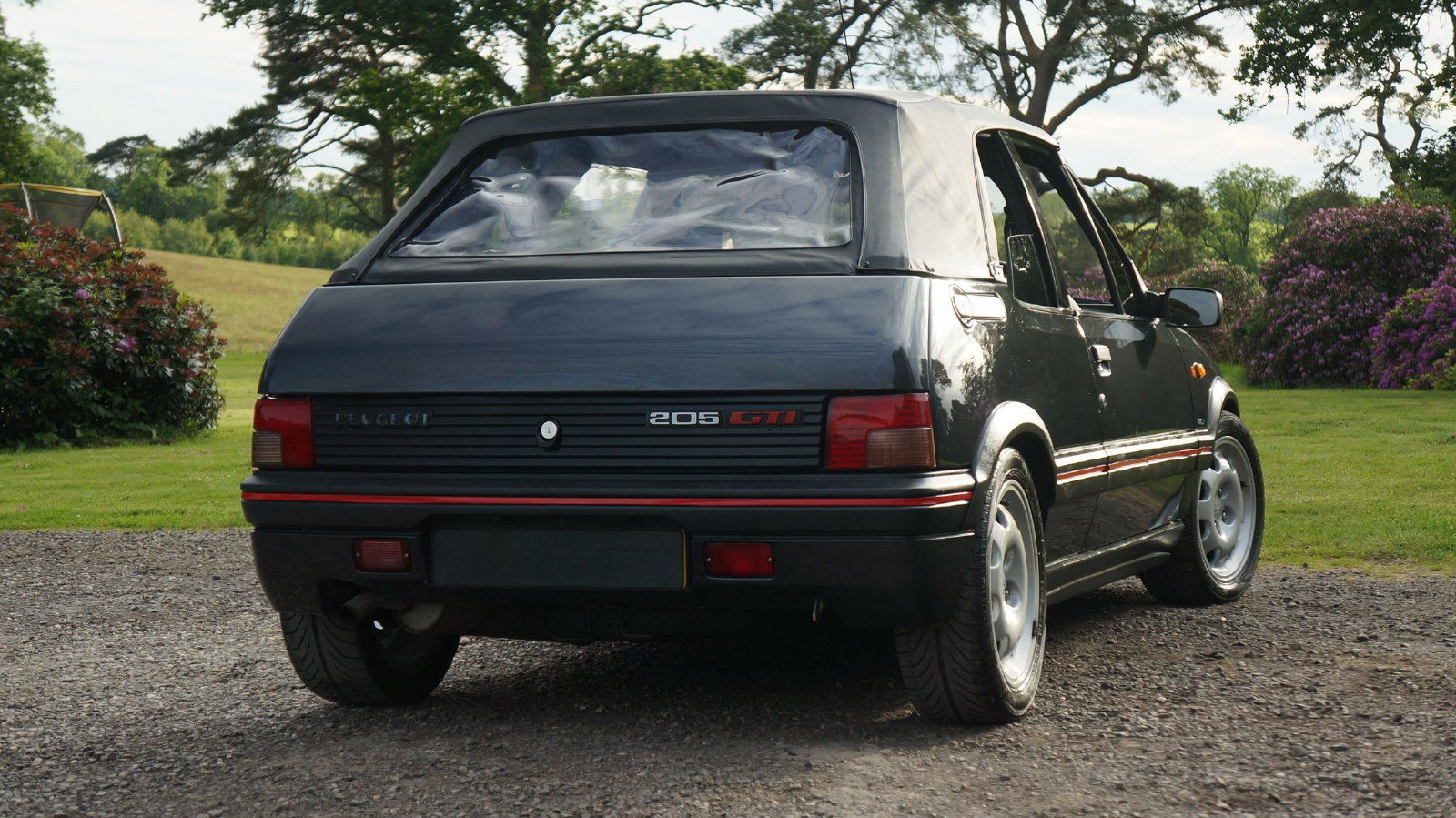 1993 Peugeot 205 CTi 1.9 GTI Convertible Cabriolet For Sale (picture 3 of 6)