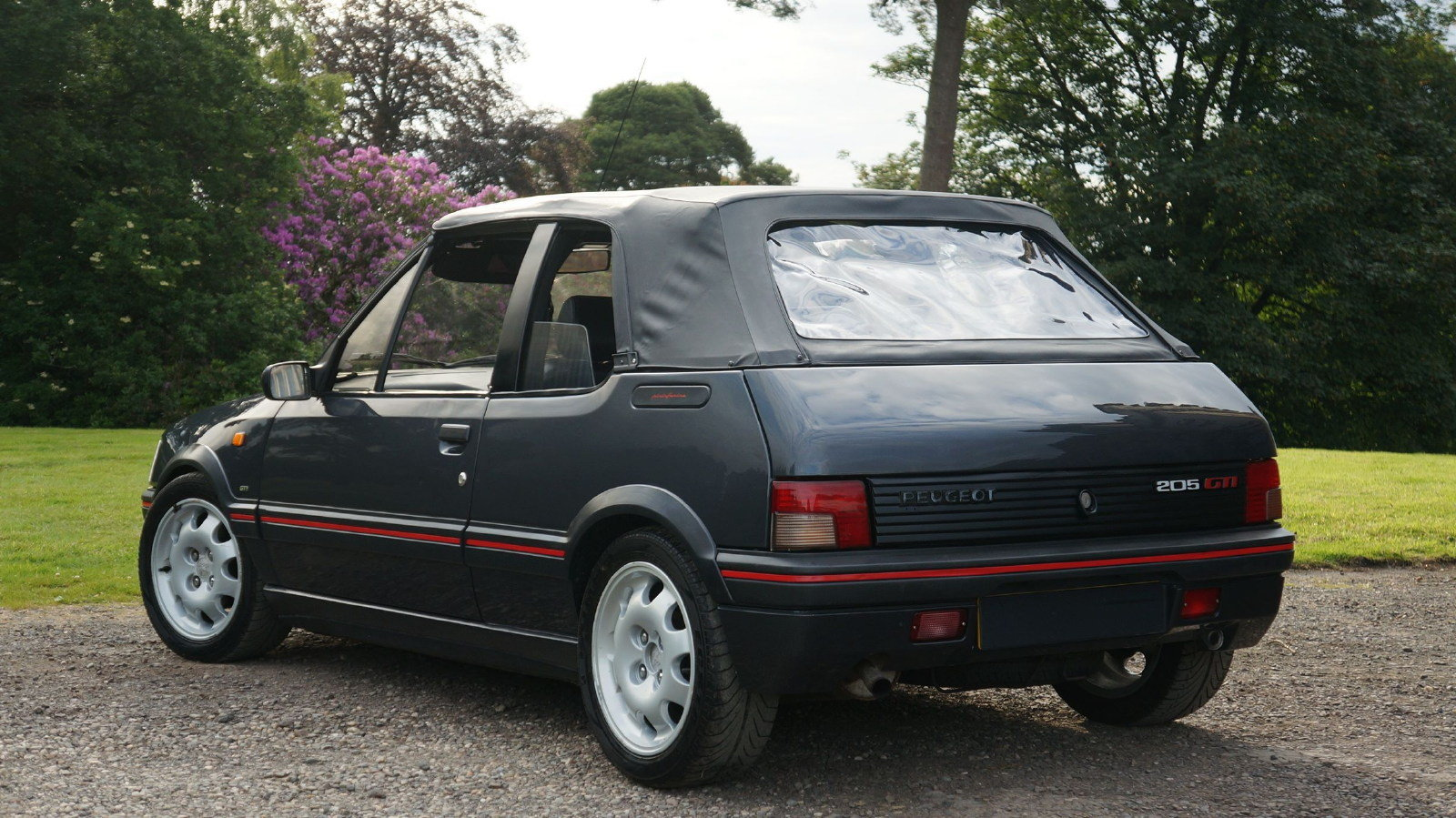 1993 Peugeot 205 CTi 1.9 GTI Convertible Cabriolet For Sale (picture 4 of 6)