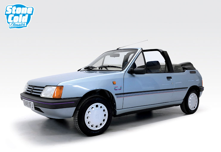 1990 Peugeot 205 CJ Convertible in outstanding condition SOLD (picture 1 of 10)