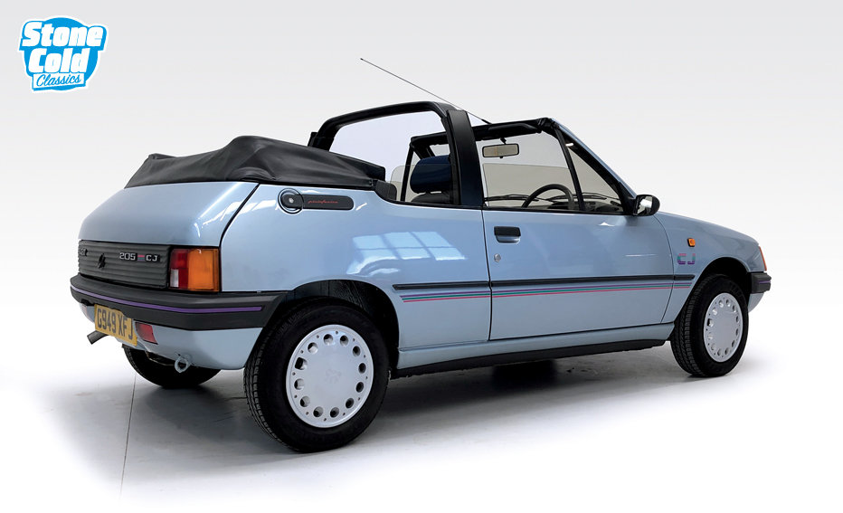 1990 Peugeot 205 CJ Convertible in outstanding condition SOLD (picture 2 of 10)