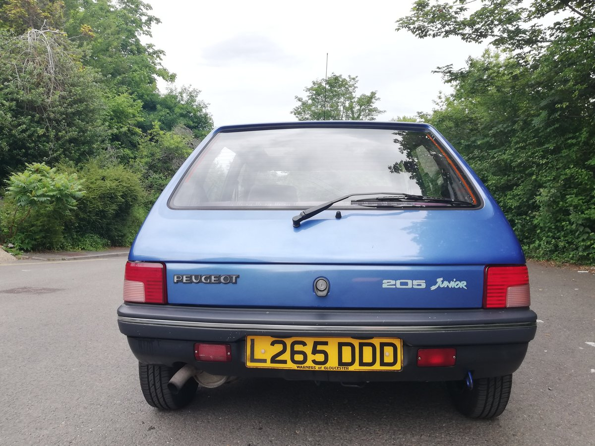 1994 Peugeot 205 1.8 Diesel For Sale (picture 4 of 6)