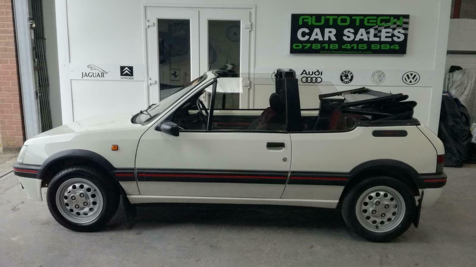 Peugeot 205 CTI 1.6  CABRIOLET 1992 For Sale (picture 1 of 6)