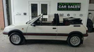 Peugeot 205 CTI 1.6  CABRIOLET 1992 For Sale