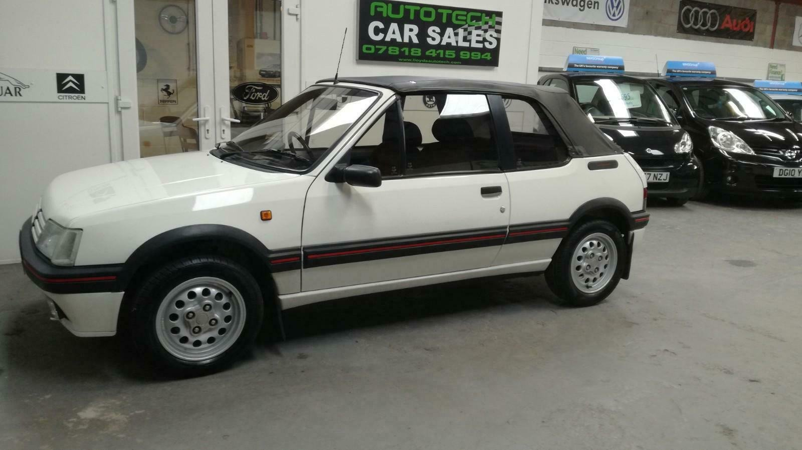 Peugeot 205 CTI 1.6  CABRIOLET 1992 For Sale (picture 2 of 6)